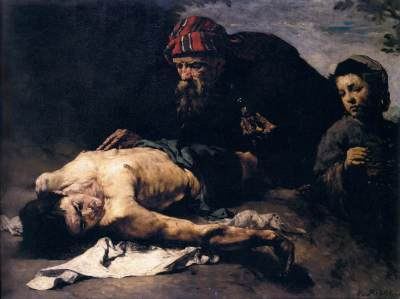 Théodule-Augustin_Ribot_-_The_Good_Samaritan_-_WGA19393