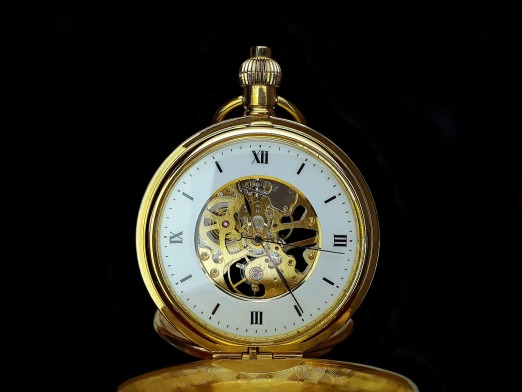 Clock Hours Time Of Pocket Watch Time Old